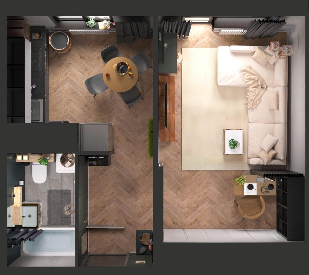 Комплексний ремонт квартир в Одесі
