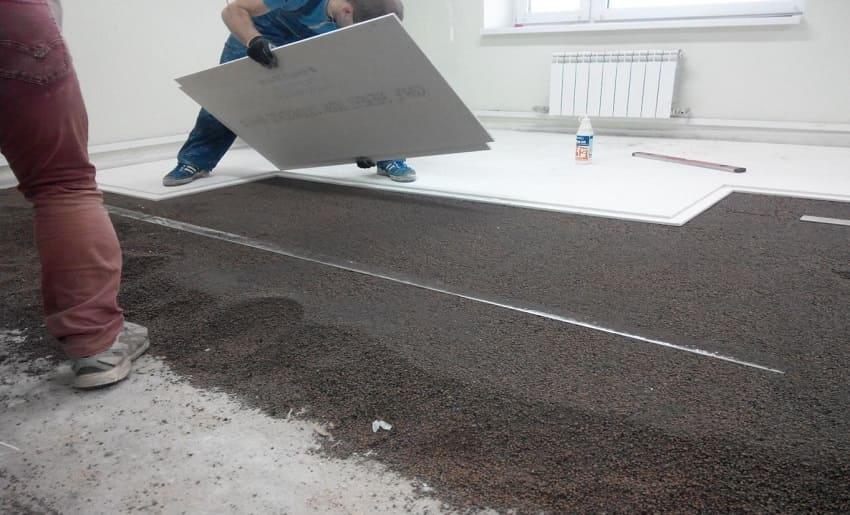 Стяжка підлоги в Одесі