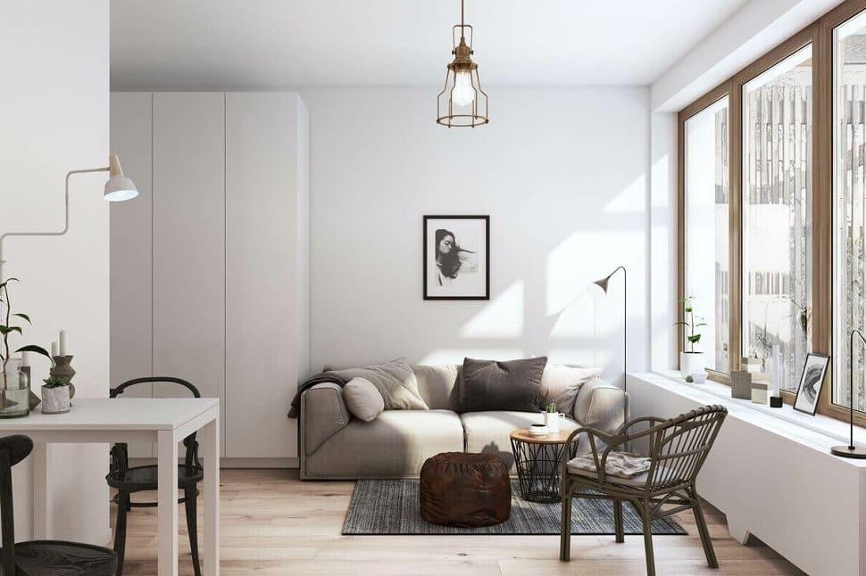 Ремонт квартири в скандинавському стилі