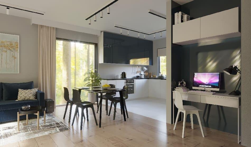 заказать дизайн интерьера квартиры IKEA