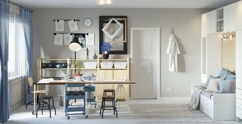 Дизайн інтер'єру квартири за допомогою ІКЕА