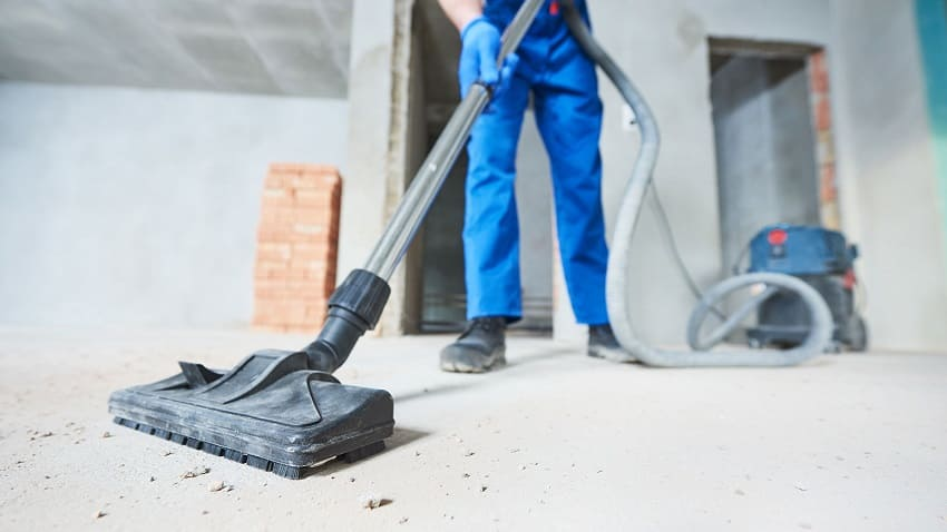 Правила эффективной уборки после строителей