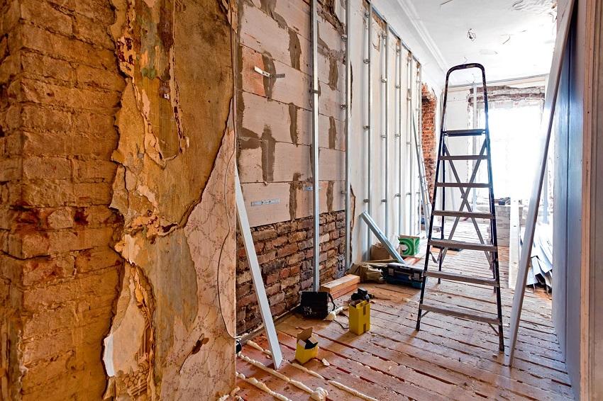 ремонтные работы в любое время года