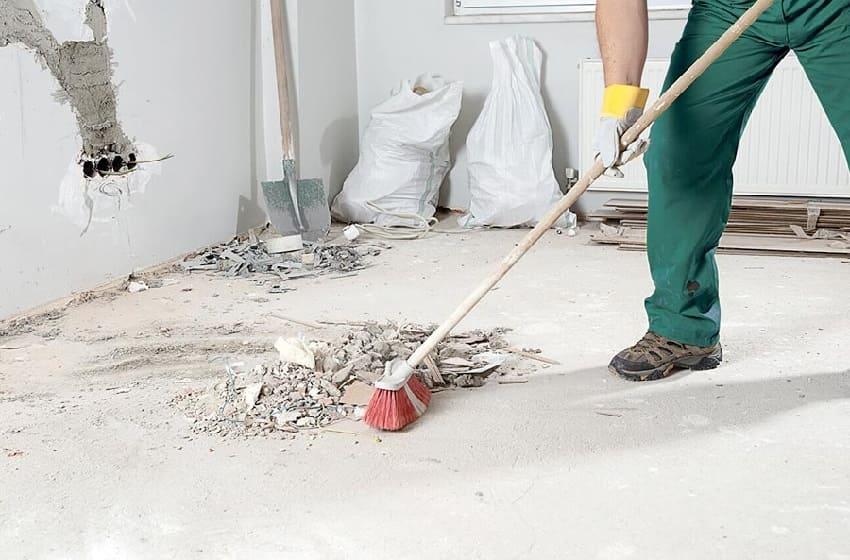 План работ по уборке квартиры после ремонта квартиры